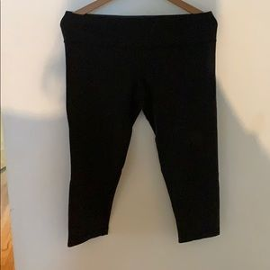 lululemon athletica Pants - Black Lululemon crop pants